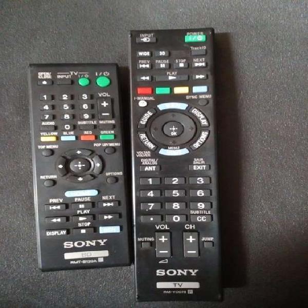 Controles para TV marca SONY originales