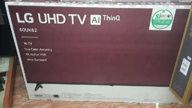 Hermoso televisor lg smart TV UHD 4k de de 60 pulgadas