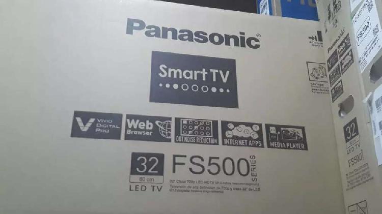 Hermoso televisor panasonic smart TV de 32 pulgadas