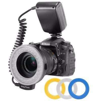 Ring Flash Rf 550d Luz Continua o Flash Ideal para