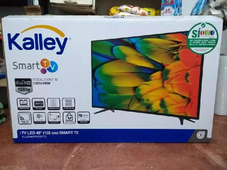 Smart TV Kalley Resolución Full HD de 40 pulgadas con TDT.