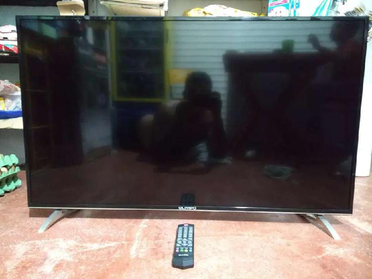 TV Led ultrafino de 42 pulgadas marca Olimpo Con TDT. Como