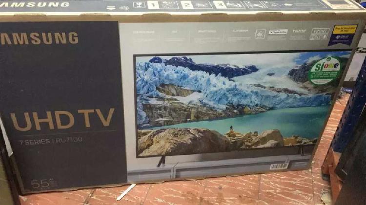 Televisor samsumg smart TV UHD 4k de 55 pulgadas nuevos