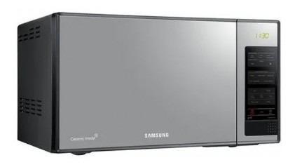 Horno Microondas Samsung 0.8 Pies Age83x Negro Horno Lk786