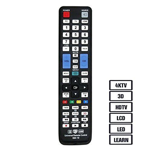Luckystar Control Remoto Universal Sm19 Samsung Tv 3d Lcd Le