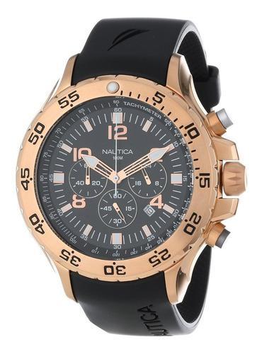 Reloj Hombre Náutica Acero Inoxidable Serie N18523g
