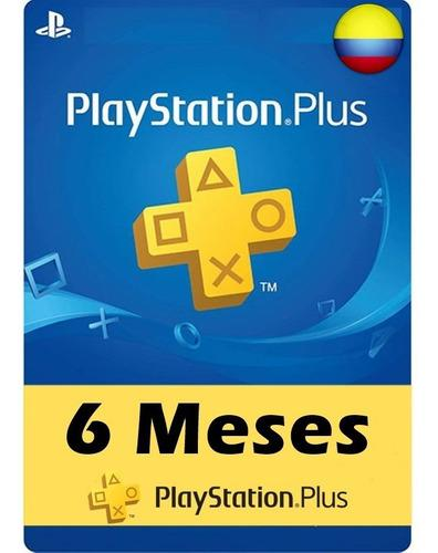 6 Meses De Psn Plus Para Ps4/ps3/psv