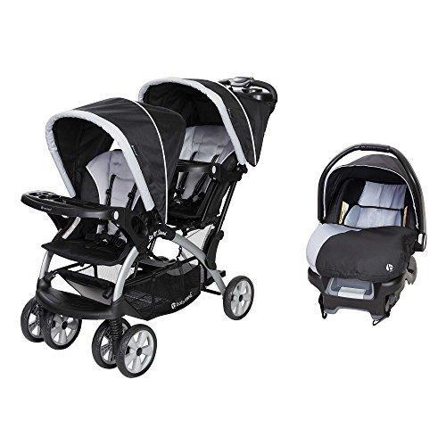 Baby Trend Sit Stand Stormy Coche Doble + 1 Silla Carro