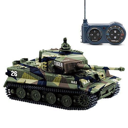 Cheerwing 1:72 Tigre Alemán I Panzer De Control Remoto Rc