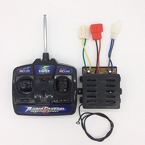 Kids Ride On Car 27mhz Control Remoto Y 6v Kit Receptor,