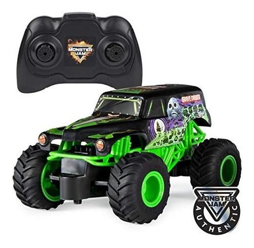 Monster Jam Grave Digger 1:24 Carro Radio Control Rc 4+