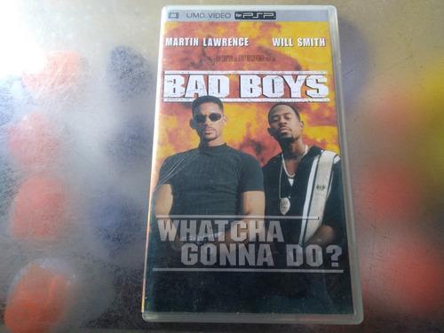 Pelicula De Psp,bad Boys.(hablado En Ingles Y Subtitulos Esp