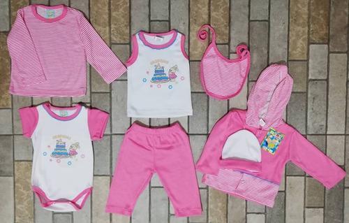 Primera Muda Para Bebe 7 Piezas