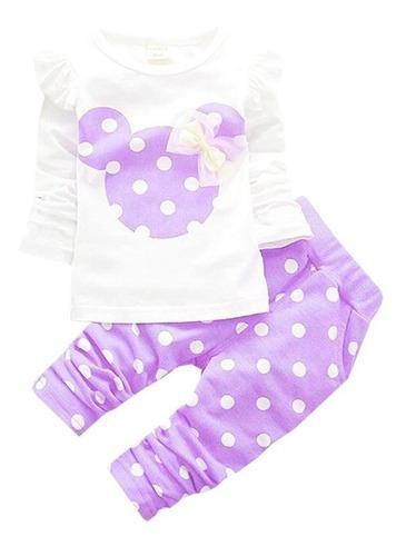 Ropa Conjunto Minnie Mouse Para Bebé Niña