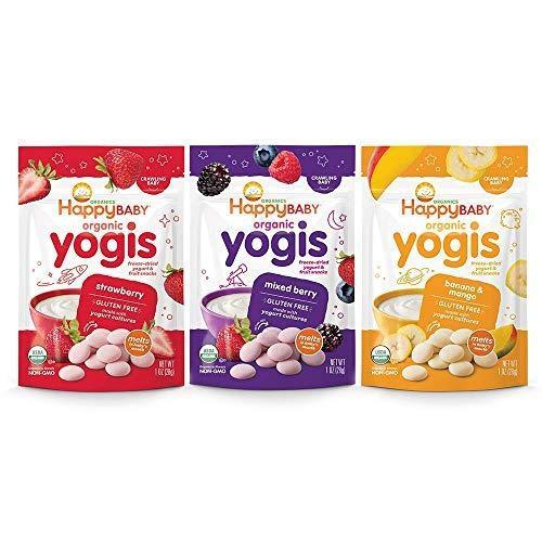 Yogur Organico Haooy Yogis Para Bebes Y Ninos, Bolsas De 1 O