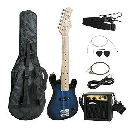 Guitarra Eléctrica De 30 Pulgadas + Amplificador De 5 W