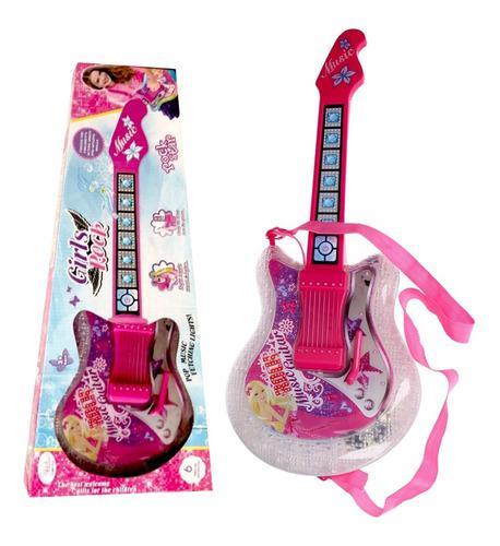 Guitarra Musical Juguete Bebés Luces Y Sonido