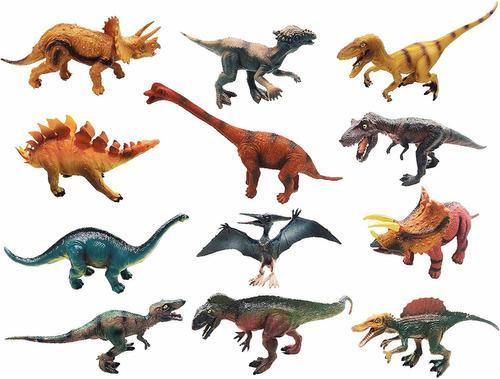 Juguetes De Figuras De Dinosaurios Realistas, Juego De...