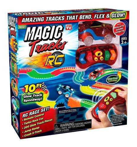 Ontel Magic Tracks Rc Coche Turbo Control Remoto Pista 10ft