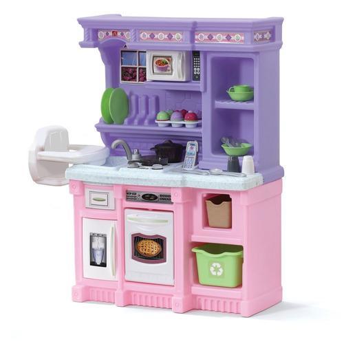 Step2 Little Juego De Cocina Infantil Cocinita Juguete
