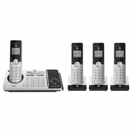 At Y T Telefono Inalambrico Sistema De Contestador Juego C