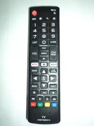 Control Remoto Tv Led LG Smart Netflix-amazon An-2030
