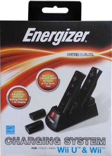 Energizer Power & Play Sistema De Carga Para Nintendo Wii U