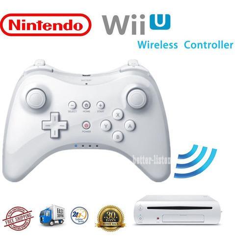 Para Nintendo Wii U Pro Wireless Bluetooth Control Remoto