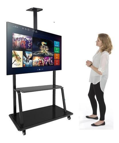 Base Soporte Movil Tv Plasma Lcd Rack Dj
