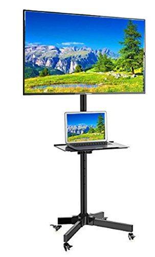 Ezm Móvil Tv Rolling Parar Lcd Led Plasma Flat Panel Con