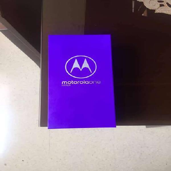 MOTOROLA ONE HYPER, 128GB NUEVO en caja. Precio: 1´199.900