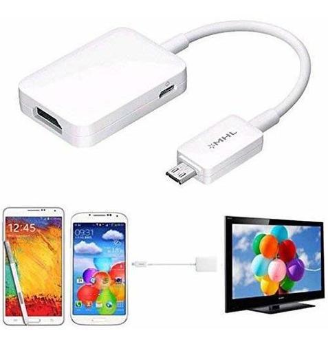 Micro Usb Mhl 2.0 A Hdmi Adaptador Hdtv Cable Para Samsung