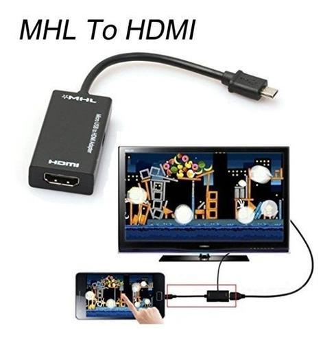 Mini Micro Usb 2.0 Mhl A Hdmi Cable Hd 1080p Para Samsung Ga