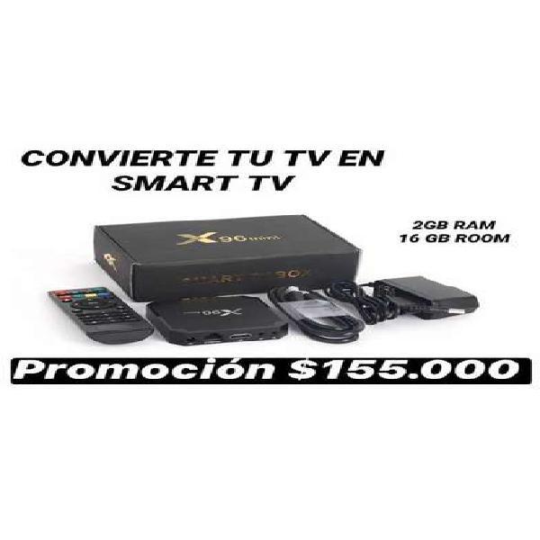 TV BOX ( convierte tu tv en smrat tv )