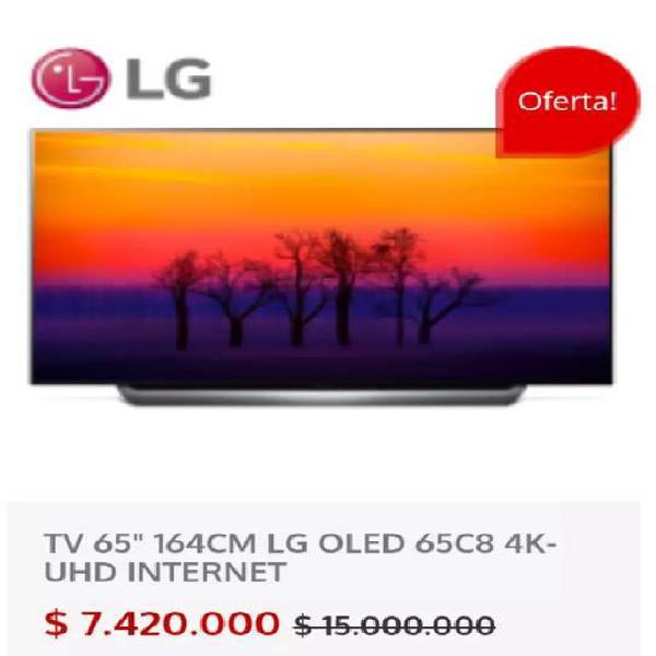 "Televisor LG 65"" Smartv TV OLED UHD 4K"