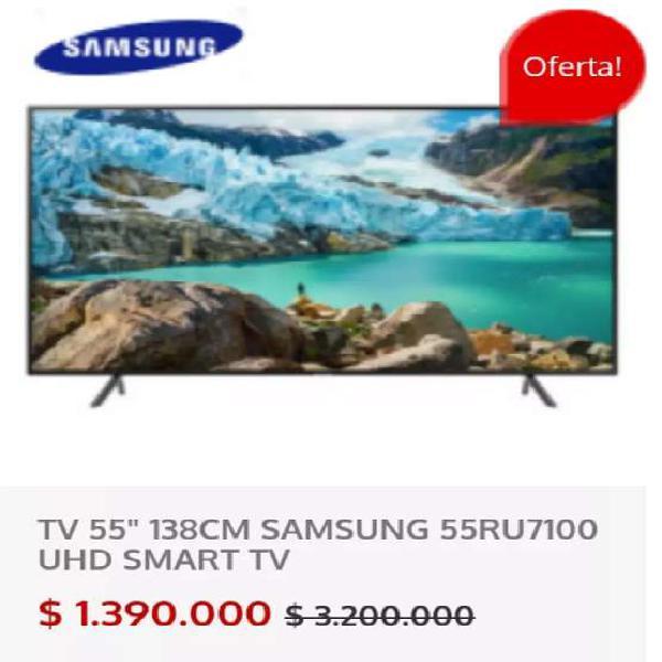 "Televisor Samsung 55"" Smart TV UHD 4K"
