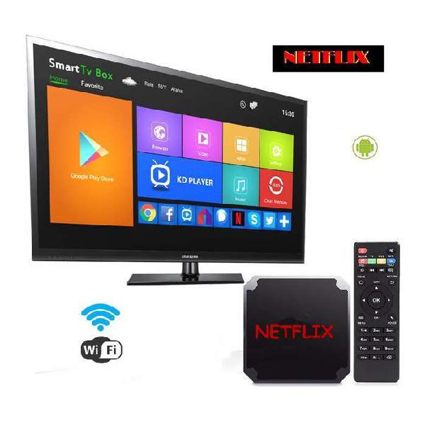 Tv box Convierte tu TV a Smart TV