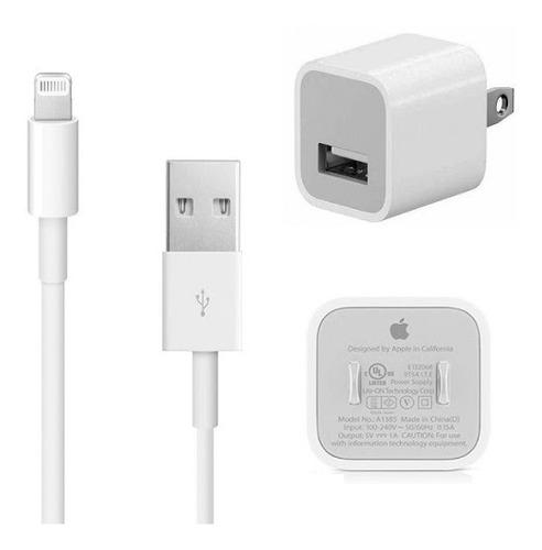 Cargador Apple iPhone Original 5/6/7/8/x/xr/xs/xs Max Oferta