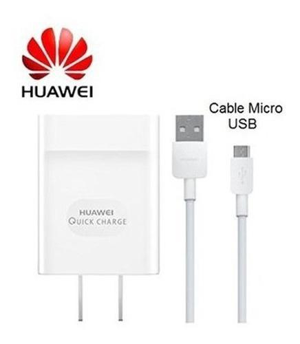Cargador Huawei Original Y9 Y6 Y7 P10 P8 Mate7 P9 Lite Honor