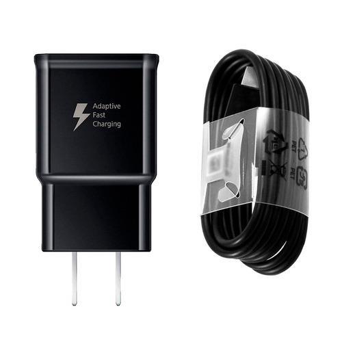 Cargador Original Samsung Fast Rapida + Cable Microusb S6 S7