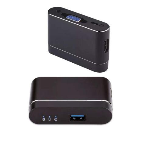 Usb Capture Video To Hdmi & Vga Dual Screen Mirroring D...