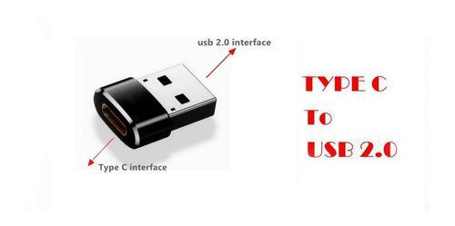 Adaptador Usb 2.0 Macho A Usb 3.1 Tipo C Hembra Otg Raxfly