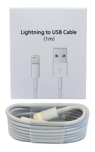 Cable Cargador iPhone 5 6 7 8 X Lightning