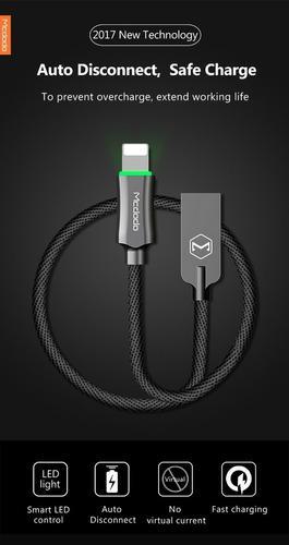 Cable De Carga Rápida Mcdodo 2.4a Para iPhone