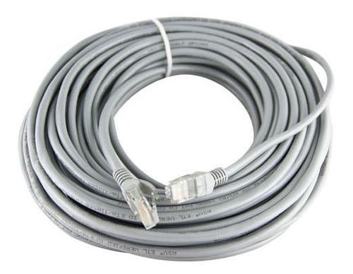 Cable Utp Cat 6 100% Cobre Gigabit Internet Ponchado X Metro