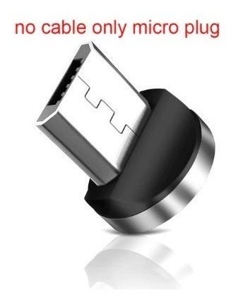 Plug Para Cable Cargador Magnetico Micro Usb Marca Garas