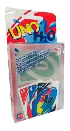 Cartas Uno H2o Juego De Mesa 100% Original Mattel