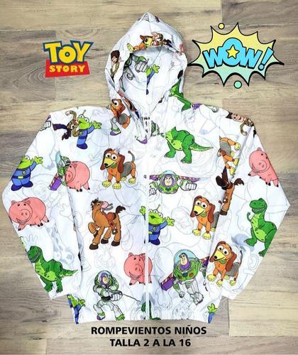 Chaqueta Toy Story Para Niños Rompevientos Niña Niño 2 A