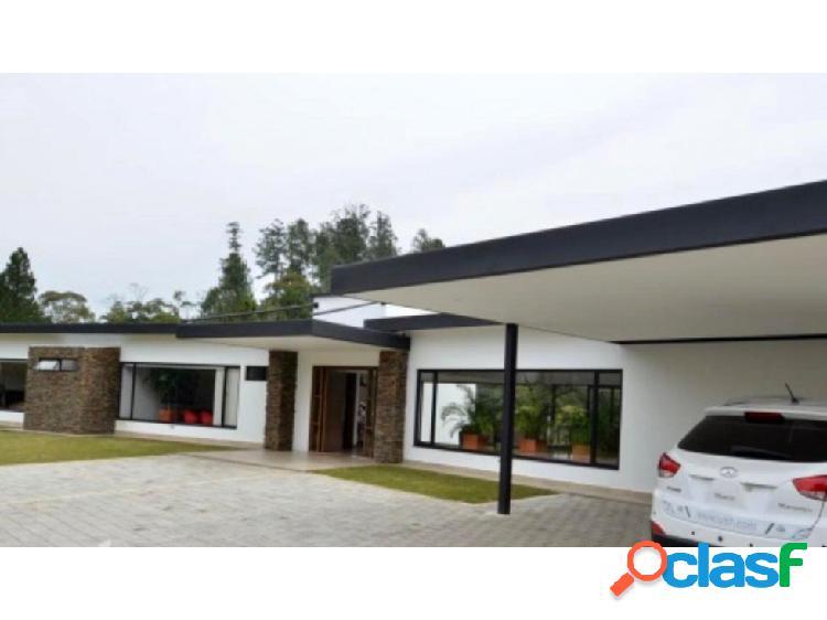 Casa Finca moderna en venta El Retiro