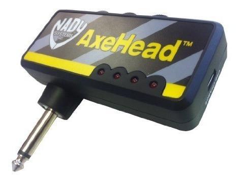 Nady Axehead Amplificador De Guitarra Para Auriculares En Mi